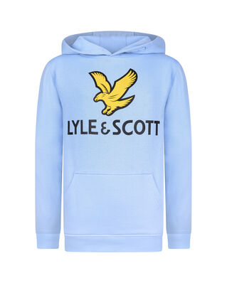 Lyle & Scott Junior Lyle Eagle Logo LB OTH Hoodie Orion Blue