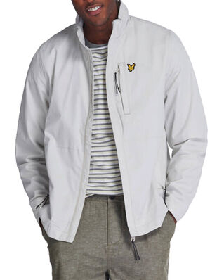 Lyle & Scott Lightweight Funnel Neck Jacket Glacier Grey