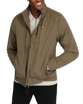 Lyle & Scott Lightweight Funnel Neck Jacket Lichen Green