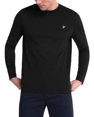 Lyle & Scott LS Crew Neck T-shirt Jet Black