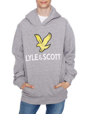 Lyle & Scott Junior Lyle Eagle Logo LB OTH Hoodie Vintage Grey Heather