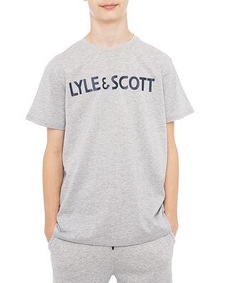 Lyle & Scott Junior Lyle & Scott Logo Tee Vintage Grey Heather