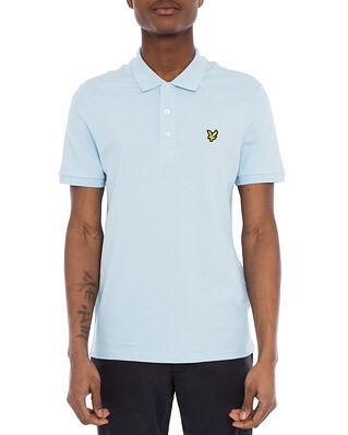 Lyle & Scott Plain Polo Shirt Deck Blue