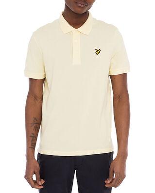Lyle & Scott Plain Polo Shirt Lemon