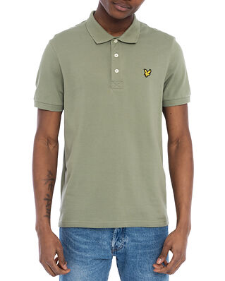 Lyle & Scott Plain Polo Shirt Moss