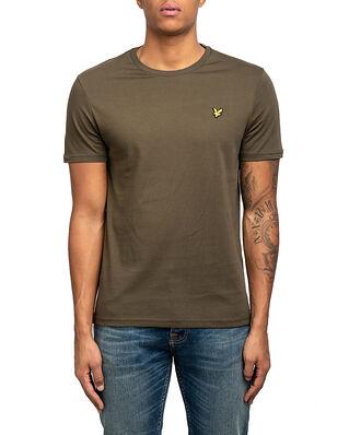 Lyle & Scott Plain T-Shirt Olive