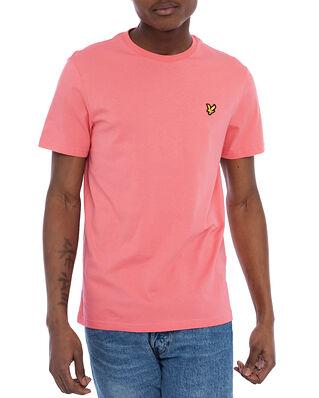 Lyle & Scott Plain T-shirt Punch Pink