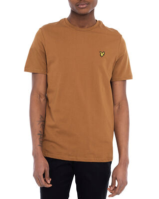 Lyle & Scott Plain T-shirt Tawny Brown