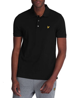 Lyle & Scott Polo Shirt Jet Black