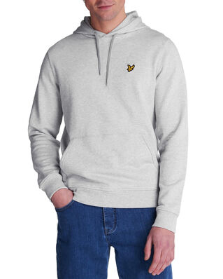 Lyle & Scott Pullover Hoodie Light Grey Marl