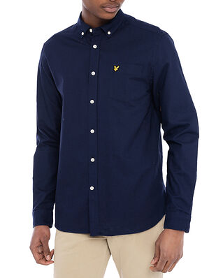 Lyle & Scott Regular Fit Light Weight Oxford Shirt Navy