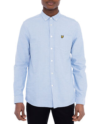 Lyle & Scott Regular Fit Light Weight Oxford Shirt Riviera