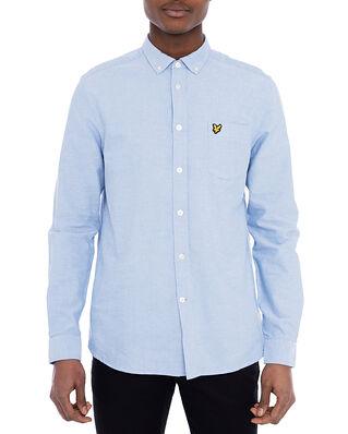 Lyle & Scott Regular Fit Light Weight Oxford Shirt Riviera