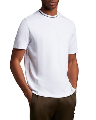 Lyle & Scott Casual Tipped T-shirt White