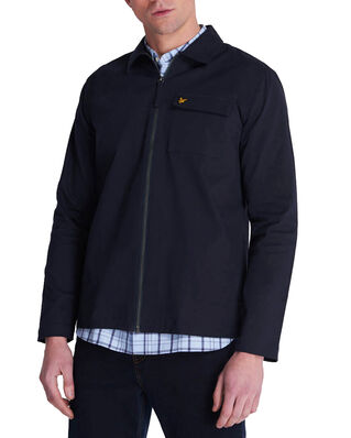 Lyle & Scott Twill Overshirt Dark Navy