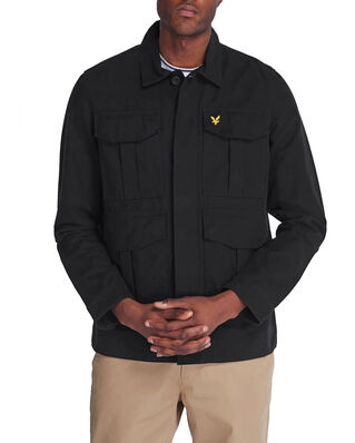 Lyle & Scott Utility Jacket Jet Black