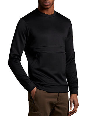 Lyle & Scott Casual Zip Pocket Sweatshirt Jet Black