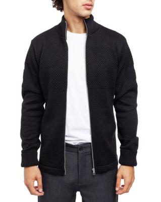 Mads Norgaard 100% Wool Klemens Zip Black