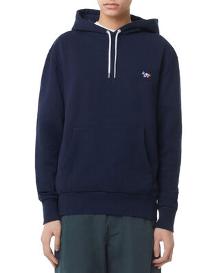 Maison Kitsuné Hoodie Tricolor Fox Patch Navy