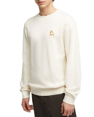 Maison Kitsuné Regular Fit Sweatshirt Off White