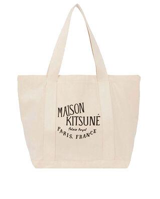 Maison Kitsuné Shopping Bag Palais Royal Ecru Black