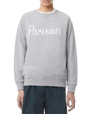 Maison Kitsuné Sweatshirt Parisien Grey Melange
