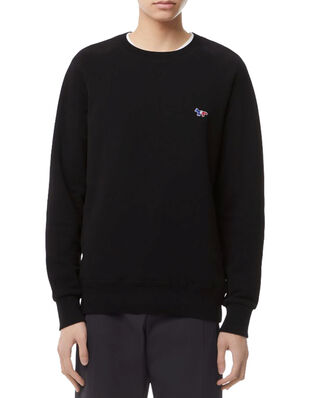 Maison Kitsuné Sweatshirt Tricolor Fox Patch Black