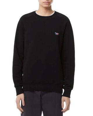 Maison Kitsuné Sweatshirt Tricolor Fox Patch Black