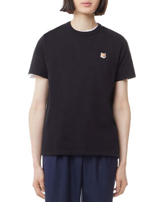 Maison Kitsuné Tee-Shirt Fox Head Patch Black