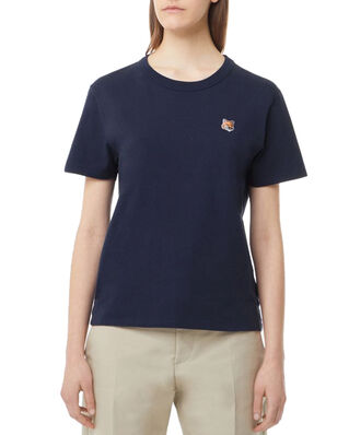 Maison Kitsuné Tee-Shirt Fox Head Patch Navy