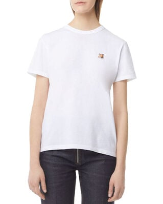 Maison Kitsuné Tee-Shirt Fox Head Patch White