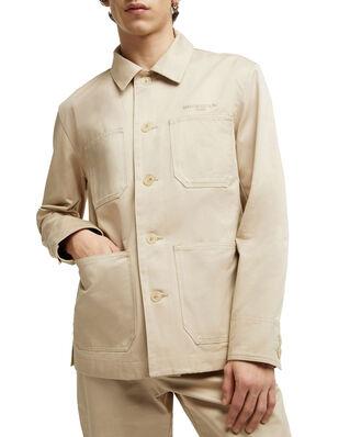 Maison Kitsuné Worker Jacket Beige