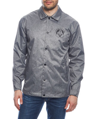 Makia Harbour Coach Jacket Grey