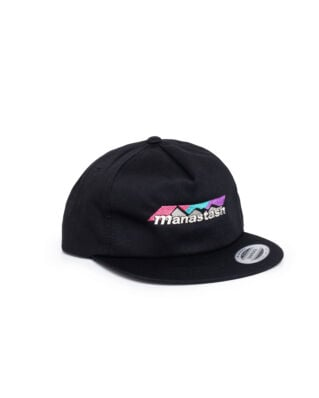 Manastash Color Scheme Logo Cap Black