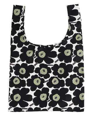 Marimekko Smartbag Mini Unikko White/Black/Olive