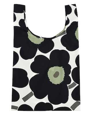 Marimekko Smartbag Unikko White/Black/Olive