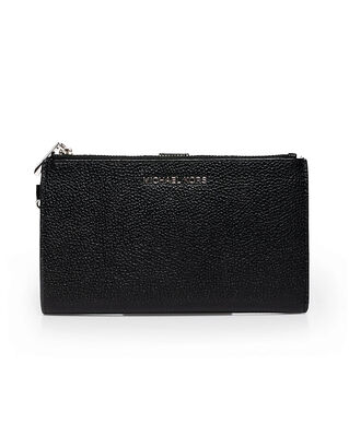 Michael Kors Adele Pebbled Leather Smartphone Wallet Black