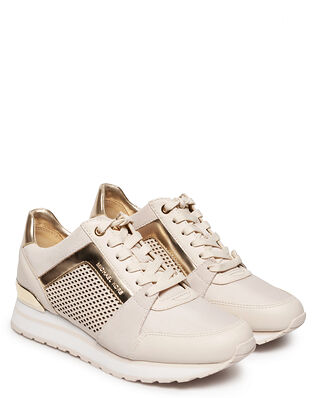 Michael Kors Billie Trainer Vanilla