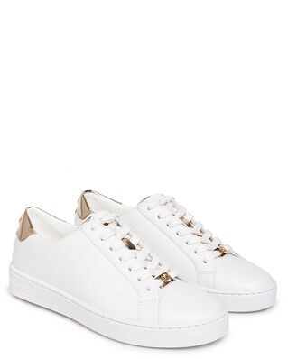 Michael Kors Irving Lace Up Optic White/Pale Gold
