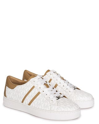 Michael Kors Keaton Stripe Lace Up Bright White