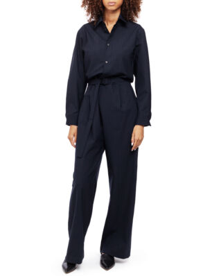 MM6 Maison Margiela Striped Jumpsuit Dark Blue