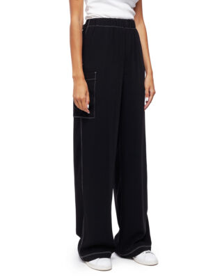 MM6 Maison Margiela Wide-leg Trousers Black