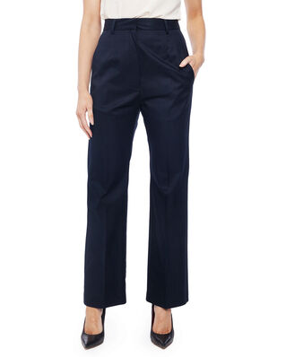 MM6 Maison Margiela Cotton Suit Trousers Dark Blue