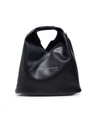MM6 Maison Margiela Faux Leather Mini Bag Black