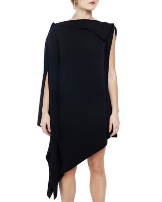 MM6 Maison Margiela Relaxed Fit Asymmetric Dress Black