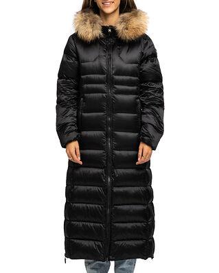 Monel Camille Long w/Fur Black