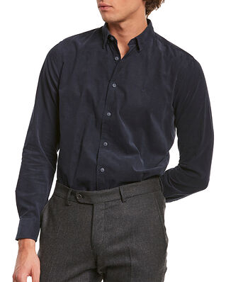 Morris Cedrik Button Under Shirt Blue