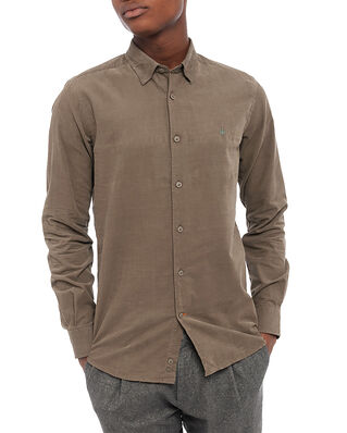 Morris Cedrik Button Under Shirt Olive