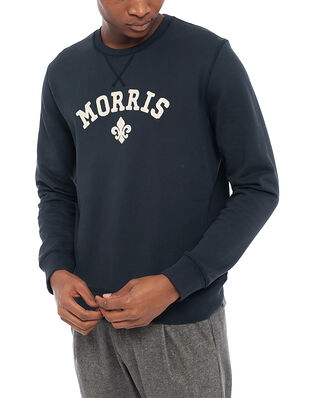 Morris Keaton Sweatshirt Old Blue