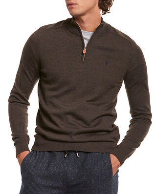 Morris Merino John Zip Brown